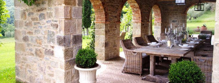 Luxury Villas in Tuscany, Villa Cantata, Terrace