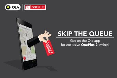 Brigadier Android : Ola is coming to your cities with OnePlus 2 get re...