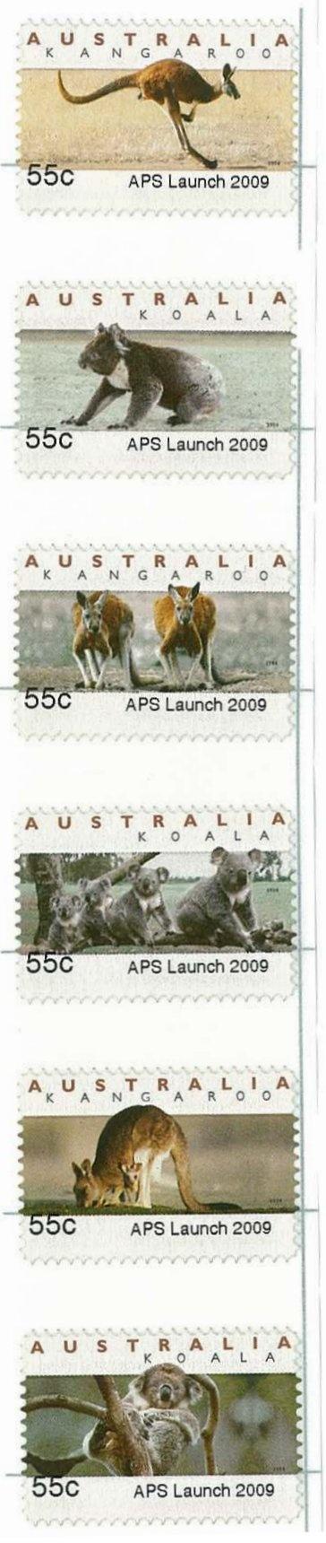 Australian stamps