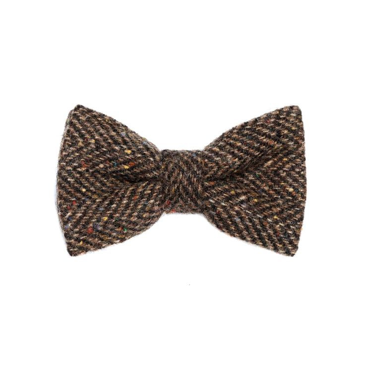 """Freckled Sod"" Donegal #Tweed  #Bowtie. FREE Worldwide Shipping!"