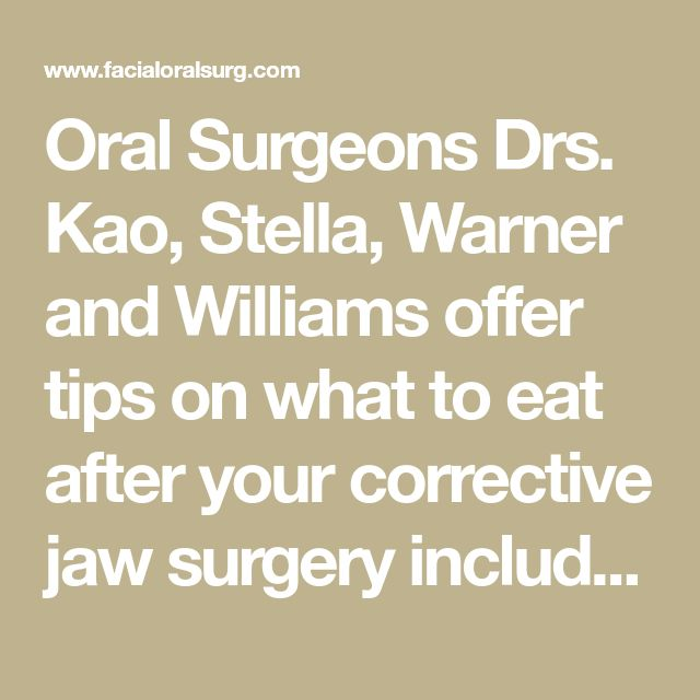 104 best Jaw surgery images on Pinterest | Health, Home remedies and ...