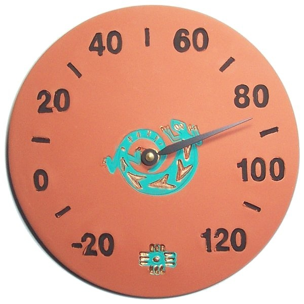 Southwest Lizard Design Thermometer
