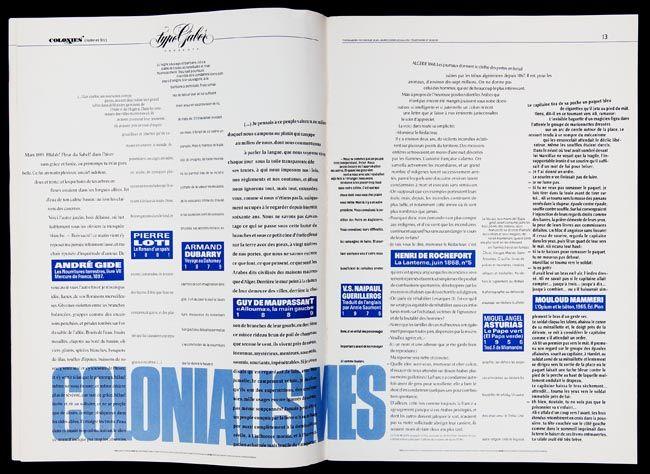 paul gabor / période parisienne (1956-1992).../ catalogue typogabor/ magazine littéraire