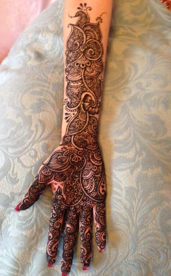 Rakhee Matharoo - bridal mendhi - Leicester