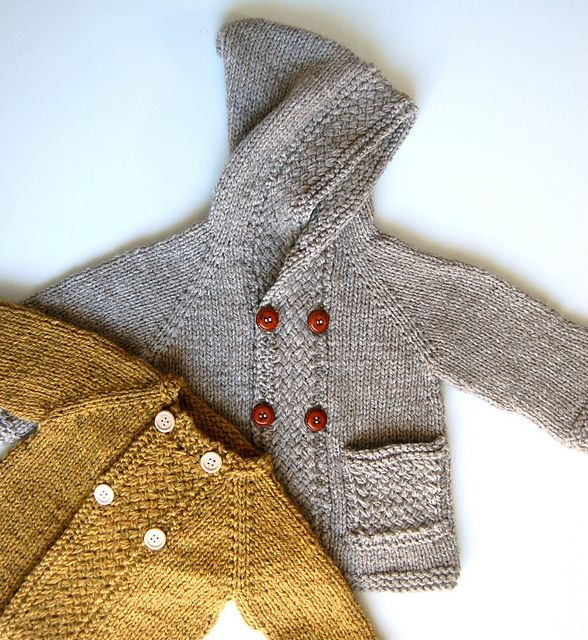 Love the cable texture...Ravelry: Latte Baby Coat pattern by Lisa Chemery