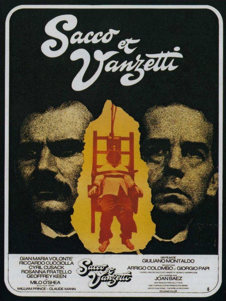 Sacco Et Vanzetti Les Affiches Du Film Fan De Cinema Sacco Et Vanzetti Fiction Historique Posters De Films