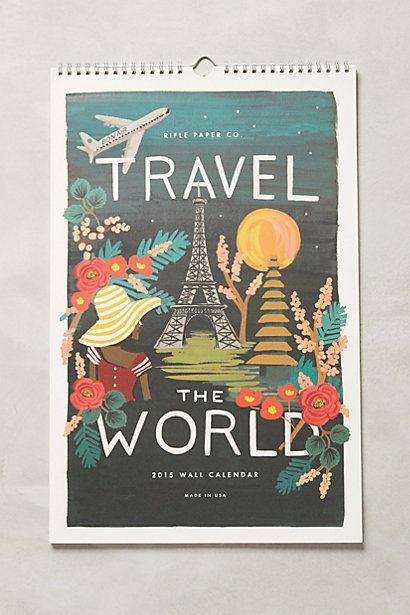 Travel America 2015 Calendar - anthropologie.com