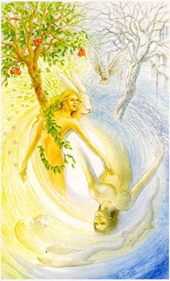 Nature (Justice) - Shapeshifter Tarot