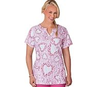 Clearance Scrub Tops for Women 2x | Discount Womens Plus Size Scrub Tops : Cherokee Scrubs ...