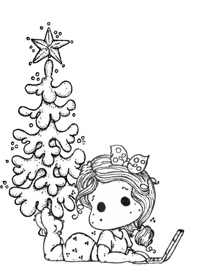 magnolia tree coloring pages - photo#25