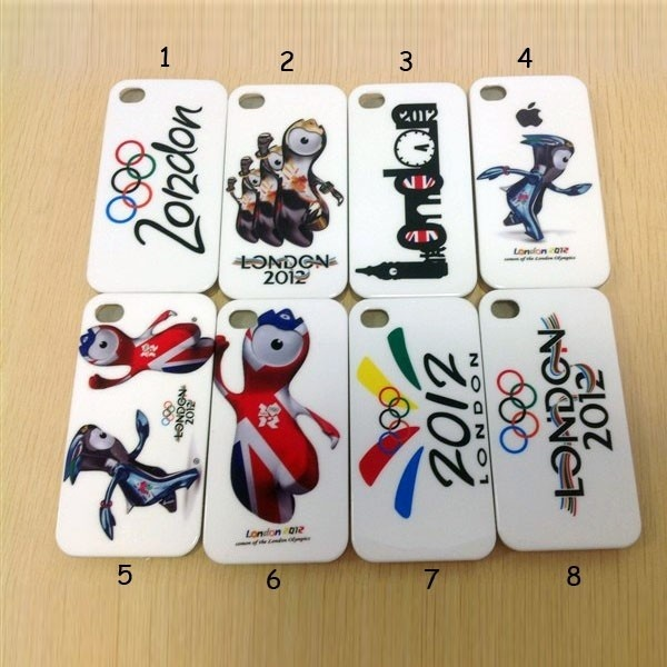 London 2012 Olympics iPhone 4 Plastic Cover