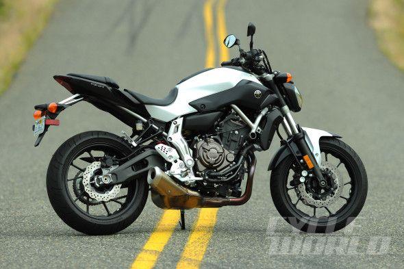 2014 Yamaha FZ-07 static shot