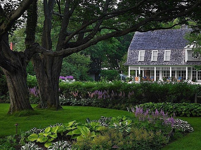 Edmund Hollander Landscape Architect Design P.C.   Country Landscapes    Cottage House