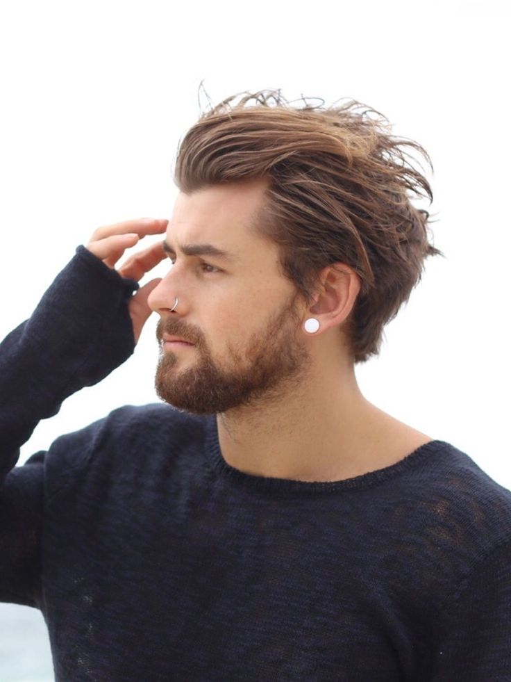 how to style hair for guys the 25 best mens hair medium ideas on s 4884