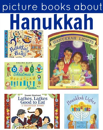 Hanukkah Books For Kids...by Allison McDonald even though we celebrate Christmas I like to teach my kids about other traditions and holidays and picture books are a perfect way to start. Here are 8 Hanukkah picture books to check out.
