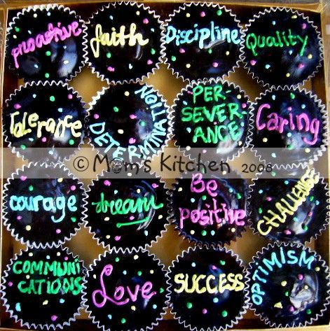 what a cute idea for a new year's eve party with resolution listed