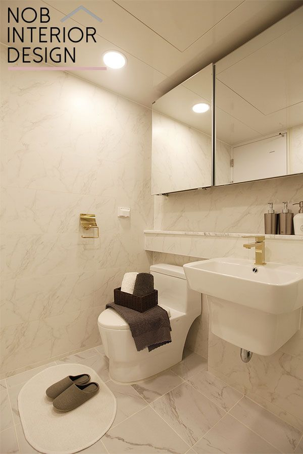 [부천 인테리어] 고급스러운 욕실 인테리어+부천 중동 팰리스카운티 아파트 49평 -노브인테리어