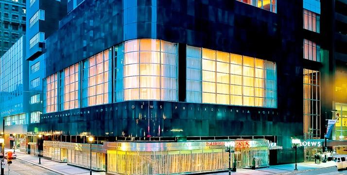 "Loews Philadelphia Hotel is a genuine landmark in #PHL's first skyscraper, voted one of the ""World's Best"" luxury hotels by Travel + Leisure readers."