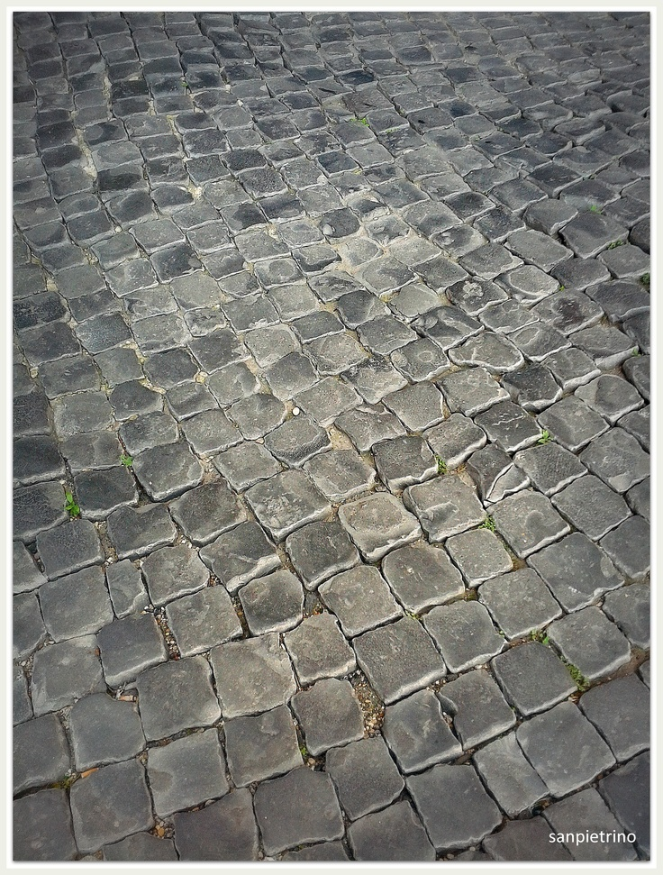 strade di Roma #sanpietrini