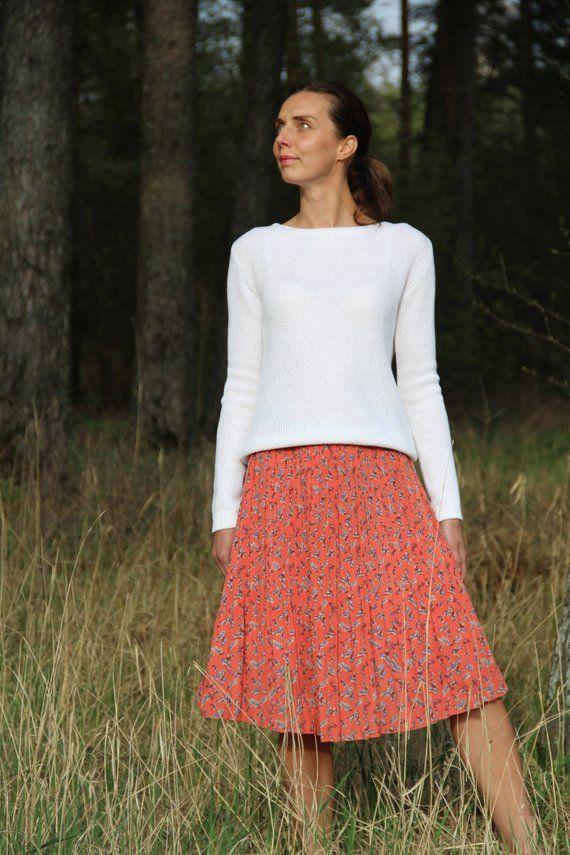 quality design 72d66 7e014 White sweater, Loose summer sweater, White Merino wool ...