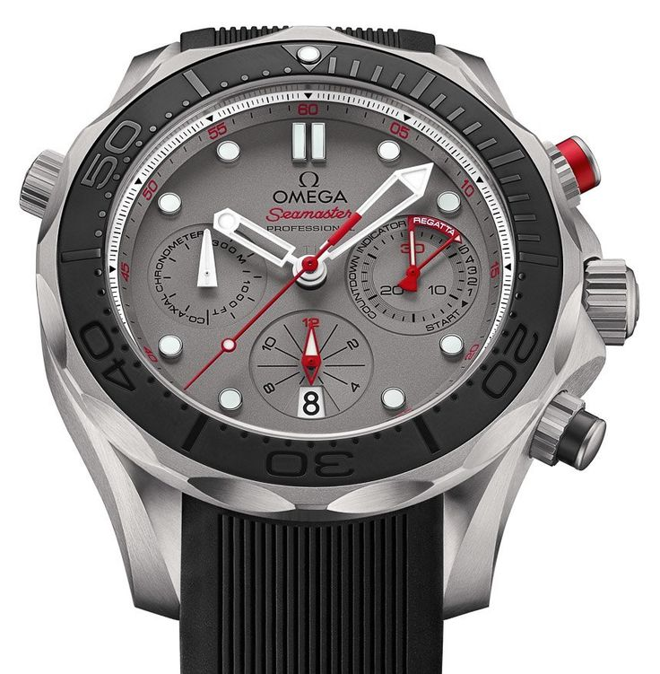 Omega Seamaster Diver 300M Co-Axial Chronograph ETNZ Watch For 2015 America's Cup