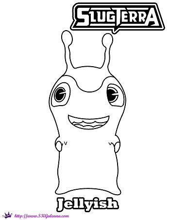 find this pin and more on emer bajoterra slugterra jellyish coloring page skgaleana