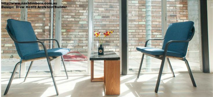 Nash Timbers coffee table constructed with Recycled timber Sourced from Power Poles