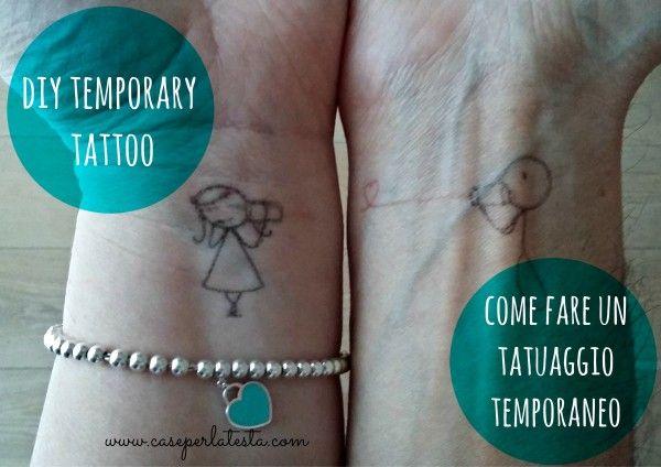 come fare un tatuaggio temporaneo: facile, rapido e low cost!