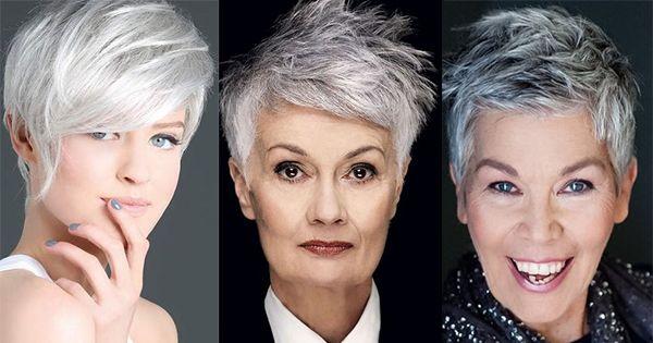 Speciaal voor alle dames die zo enorm dol op een grijze haarkleur zijn hebben wij 11 gave korte kapsels verzameld! Helemaal trendy geknipt en geverfd in de nog steeds onwijs hippe grijze haarkleur!
