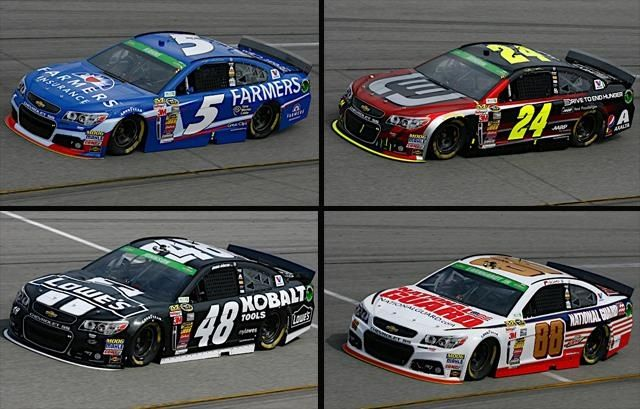What Cars Race In Nascar