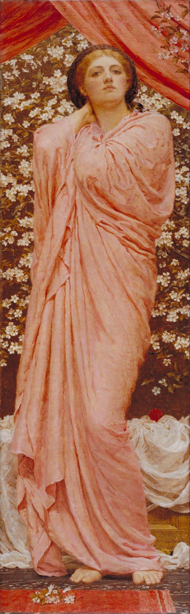 Blossoms - Albert Joseph Moore