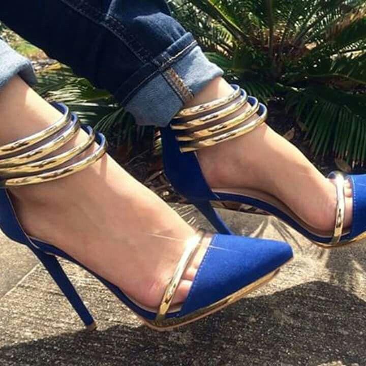 1000  ideas about Blue Heels on Pinterest  Pump shoes Black