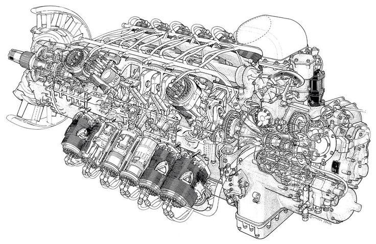 vr6 engine diagram engine mount merlin engine diagram rolls-royce merlin | misc | pinterest | merlin, engine and ...