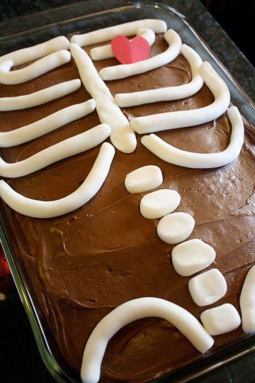 A Skeleton Cake