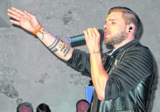 Der DSDS-Gewinner Daniel Schuhmacher sang auf der Frühlingsnacht.