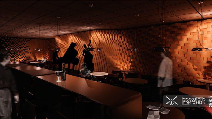 Se puede utilizar el #render para previsualizar #materiales y #luces.  #materials #ligthingdesign #diseño #iluminación #architecture #arquitectura #design