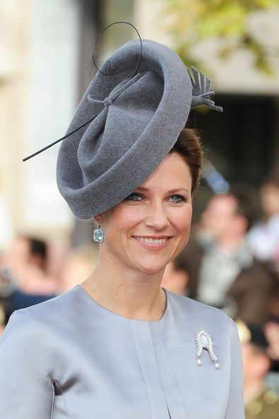 Luxembourg Wedding: The Norwegian Royals....Posted on October 20, 2012 by HatQueen...Princess Martha Louise.