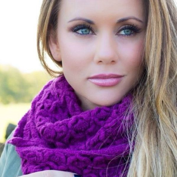 A true boutique find, knit infinity scarves in a unique vintage inspired, shabby chic floral pattern. You will adore the luxe, soft feel of these ultra warm scarves.