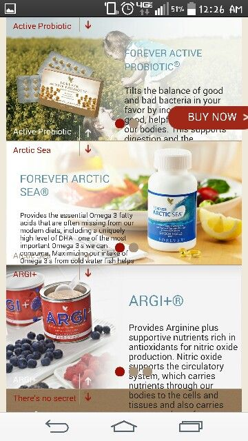 Live a full active life with foreverliving
