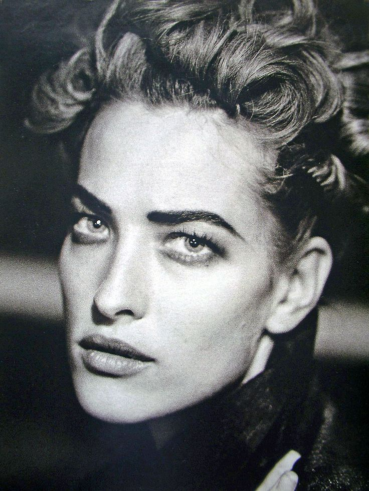 Tatjana Patitz - February 1991 - 'The German Gericht' - Marie Claire Germany - Photo by Peter Lindbergh - http://www.peterlindbergh.com/