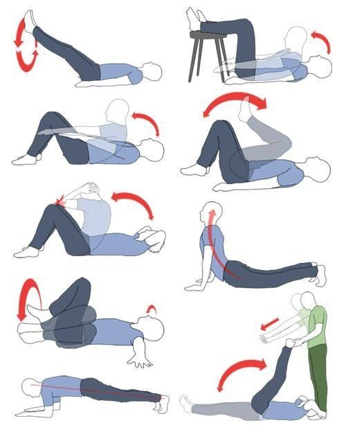 Lower stomach exercises you can do morning & night!