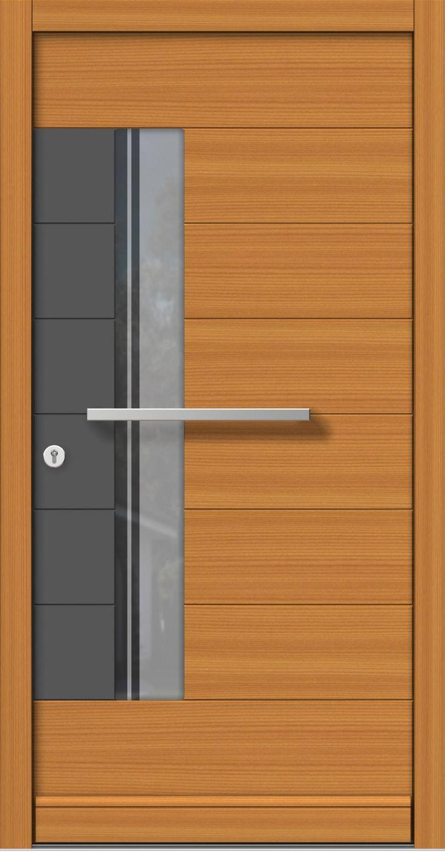 Eingangstüren modern holz  39 besten Türen Haustüren Holz Modern Bilder auf Pinterest ...