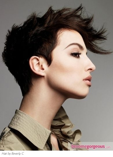 Love!: Pixie Haircuts, Shorts Mohawks Hairstyles, Punk Rocks, Short Hairstyles, Shorts Haircuts, Shorts Hair Style, Edgy Hairstyles, Mohawks Haircuts, Shorts Hairstyles