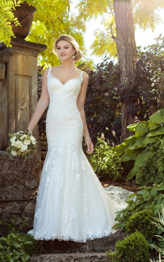 Turn Heads In This Vintage Boho Wedding Dress With Pearl Beading From Essense Of Australia