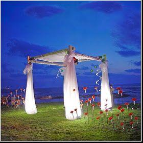 Aloha Bridal Gallery: Creative Beach Wedding Arches
