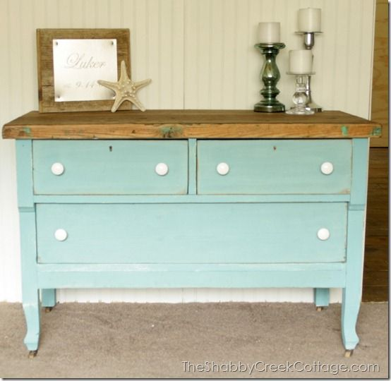 Dark Blue Chalk Paint Kitchen Cabinets: 17 Best Images About Paint And Decoupage Furniture On