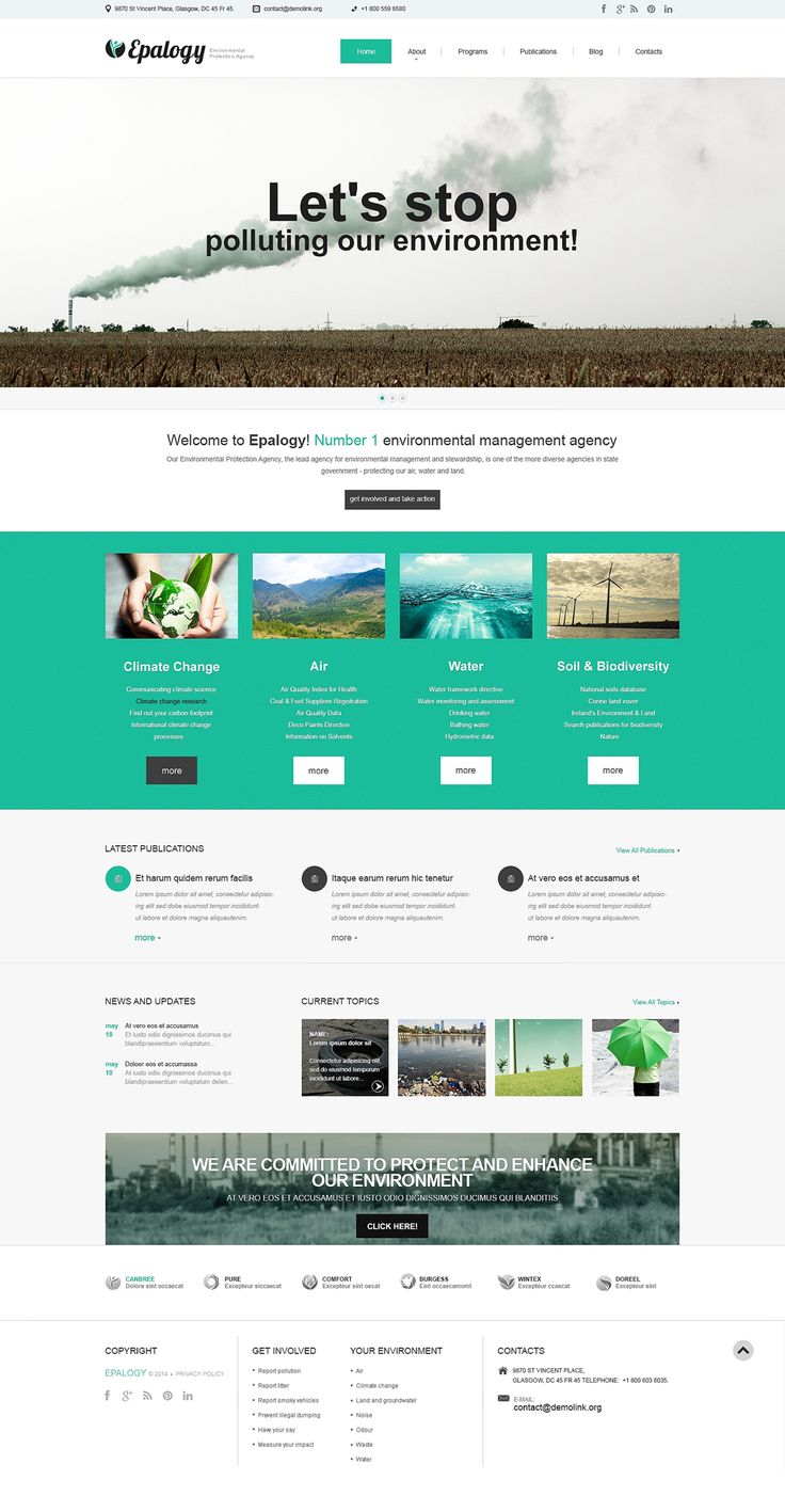 Best 12 Environmental & Clean Energy WordPress Themes (Solar, Wind and Recycling) - Alternative Power (WordPress template) Item Picture