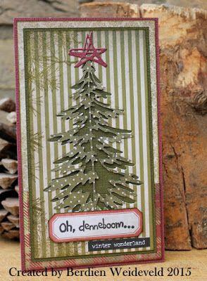 Scrap from Bemmel: Oooh denneboom...........