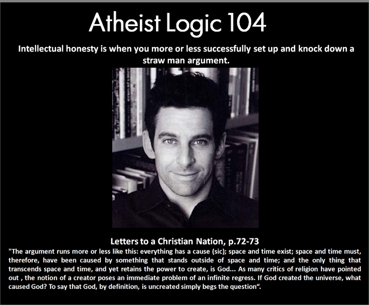 Intellectual honesty (Sam Harris): Atheism, I Harry