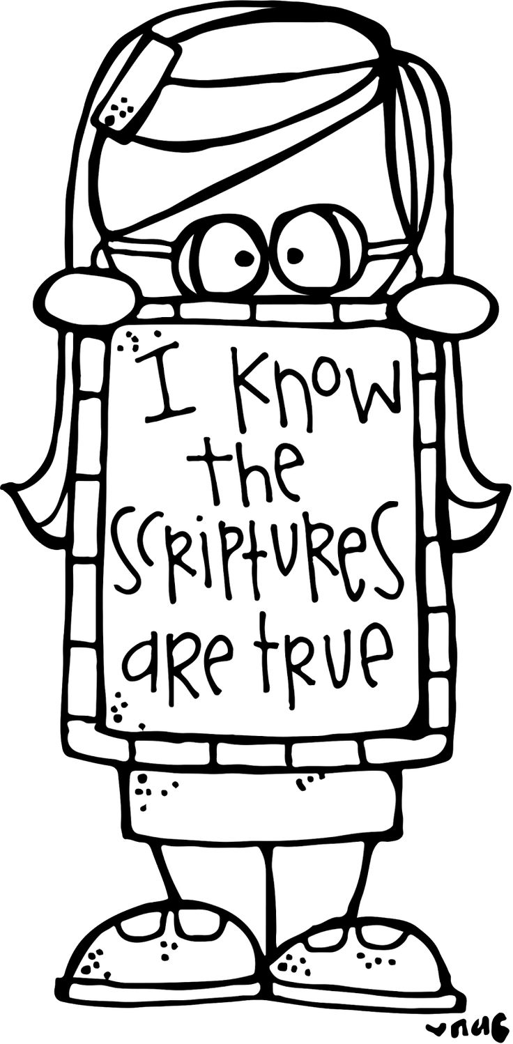 100 General Conference Coloring Pages